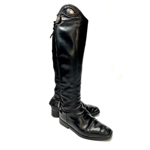 Parlanti Shoes Womens Tall Black Dress Boots By Poshmark